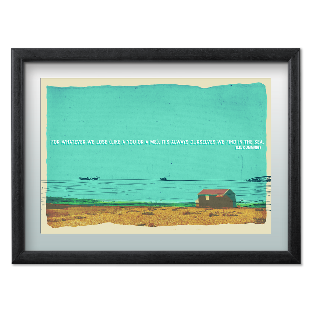 Marsha By The Sea  'For Whatever We Lose' Limited Edition 20 x 30 Print