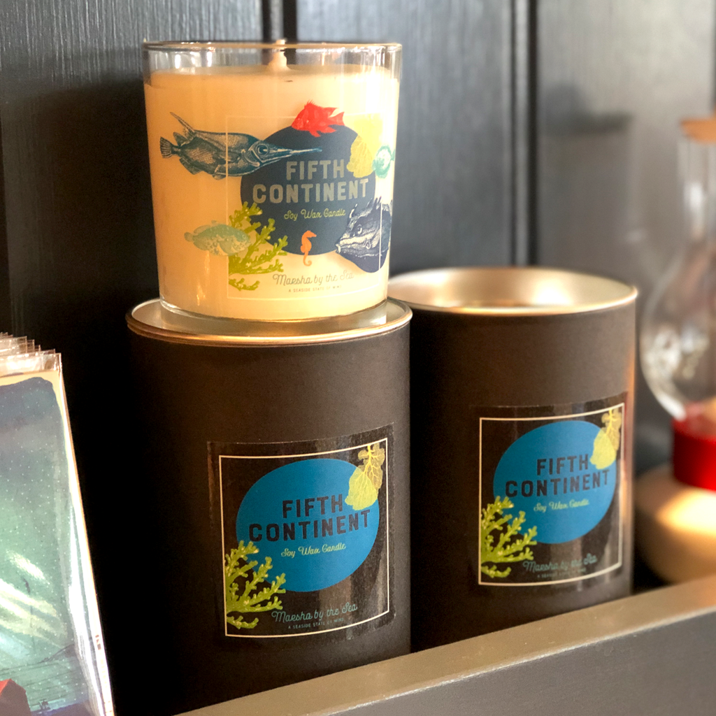 Marsha By The Sea Fifth Continent Candle