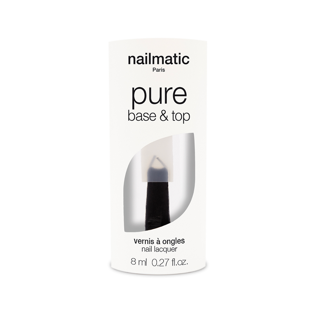 Nailmatic PURE Vegan Nail Polish - Base & Top Coat