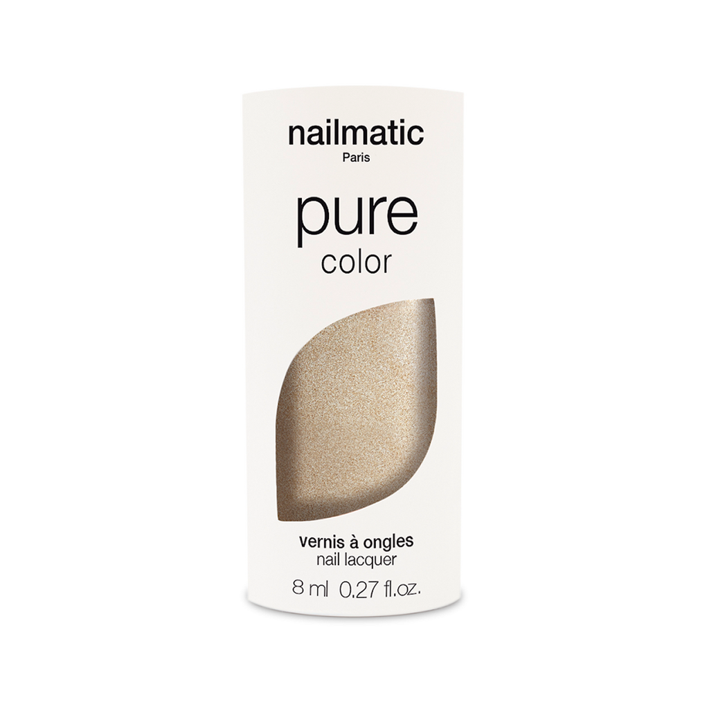 Nailmatic PURE Vegan Nail Varnish - Gala Gold