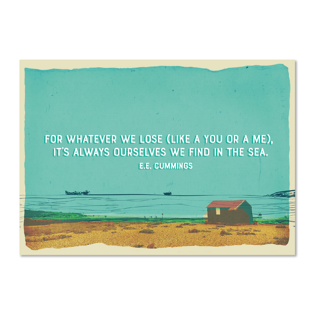 Marsha By The Sea Pack of 10 'Whatever You Lose' Postcards