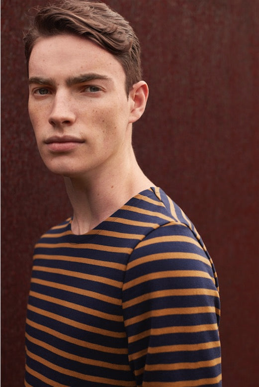 Petit Bateau Men's Iconic Breton Stripe Top