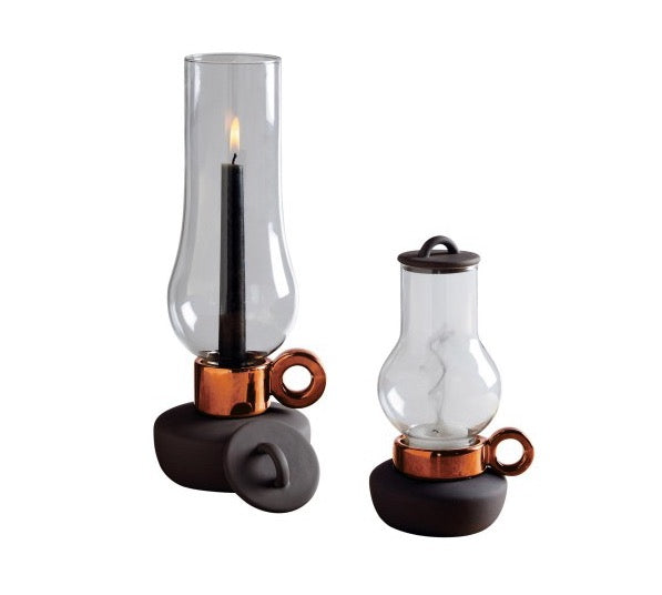 Seletti Lantern Tealight Holder Anthracite