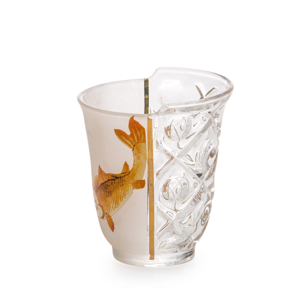 Seletti Hybrid 'Aglaura' Set of 3 Glasses