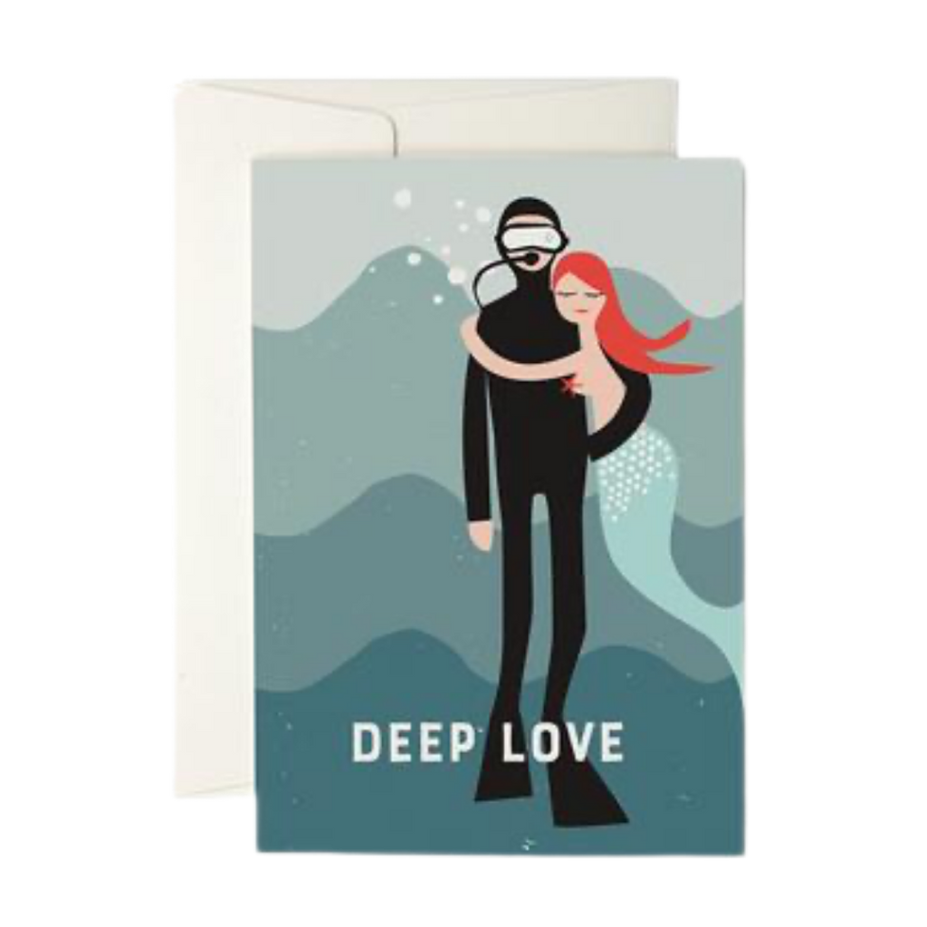 Pleased To Meet Deep Love Greeting Card
