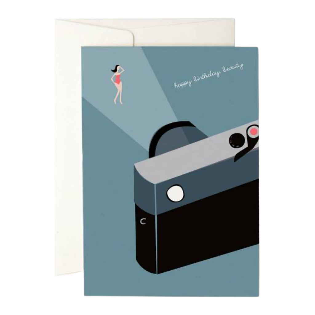 Pleased To Meet Happy Birthday Beauty Greeting Card