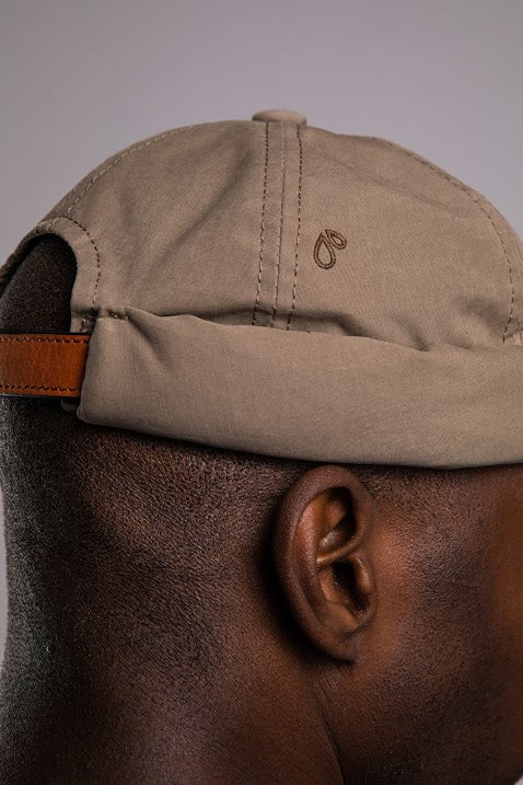 Béton Ciré Miki Waterproof Hat Light Khaki