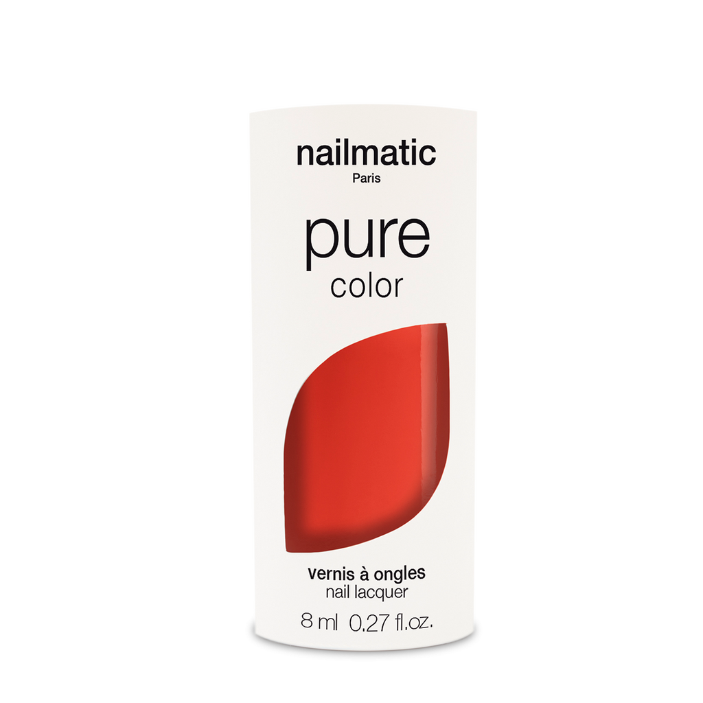 Nailmatic PURE Vegan Nail Varnish - Ella Coral Red