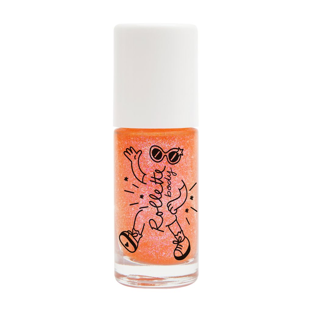 Nailmatic Kids Rolette Body Glitter Peach