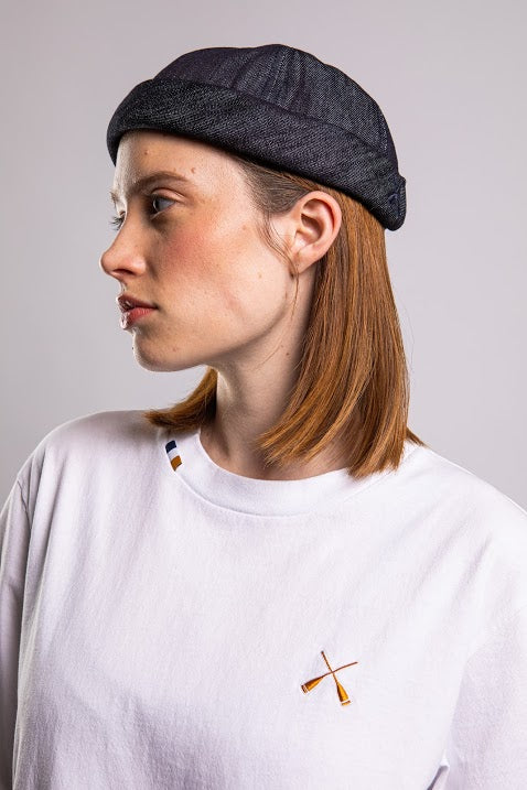 Béton Ciré Miki Timeless Blue Denim Hat