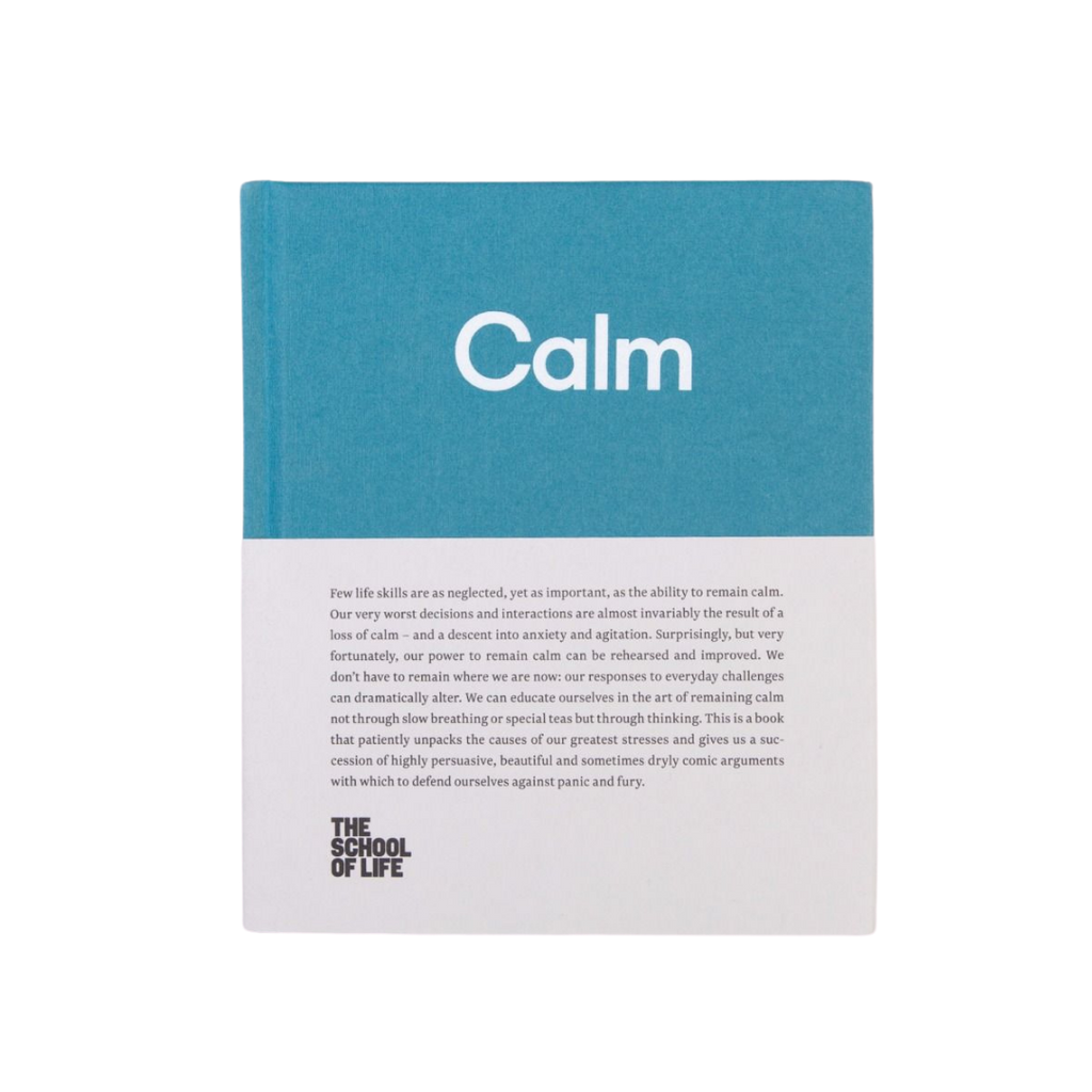 The School of Life Calm Book