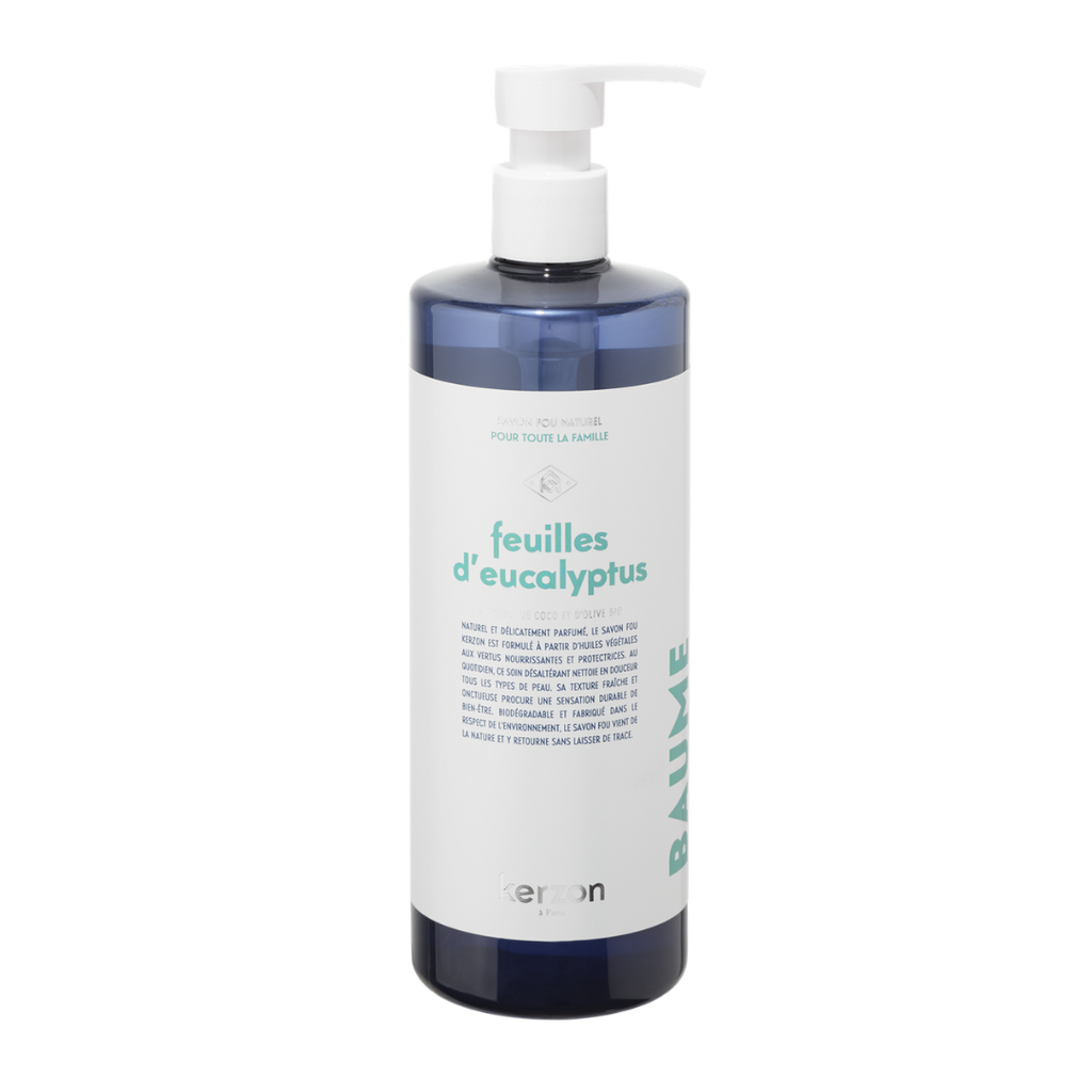 Kerzon Feuilles D'Eucalyptus Top To Toe Natural Liquid Soap