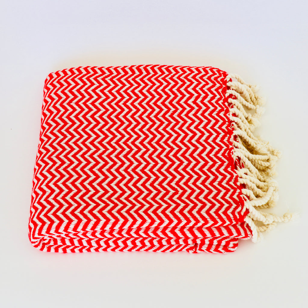 Bon Bini Chikitu Towel Red
