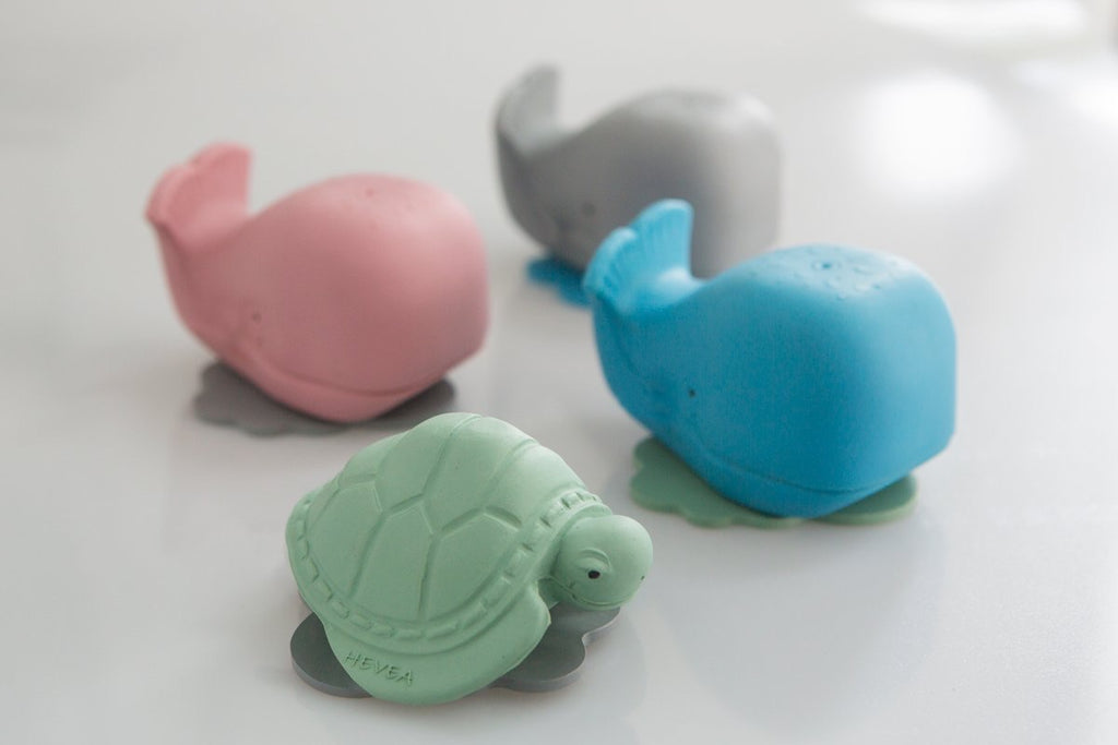 Hevea Ingeborg The Whale Natural Rubber Bath Toy