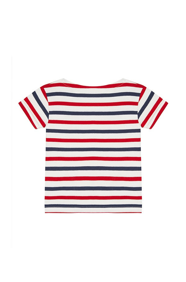 Maison Labiche Kids Love Is All Sailor T-Shirt