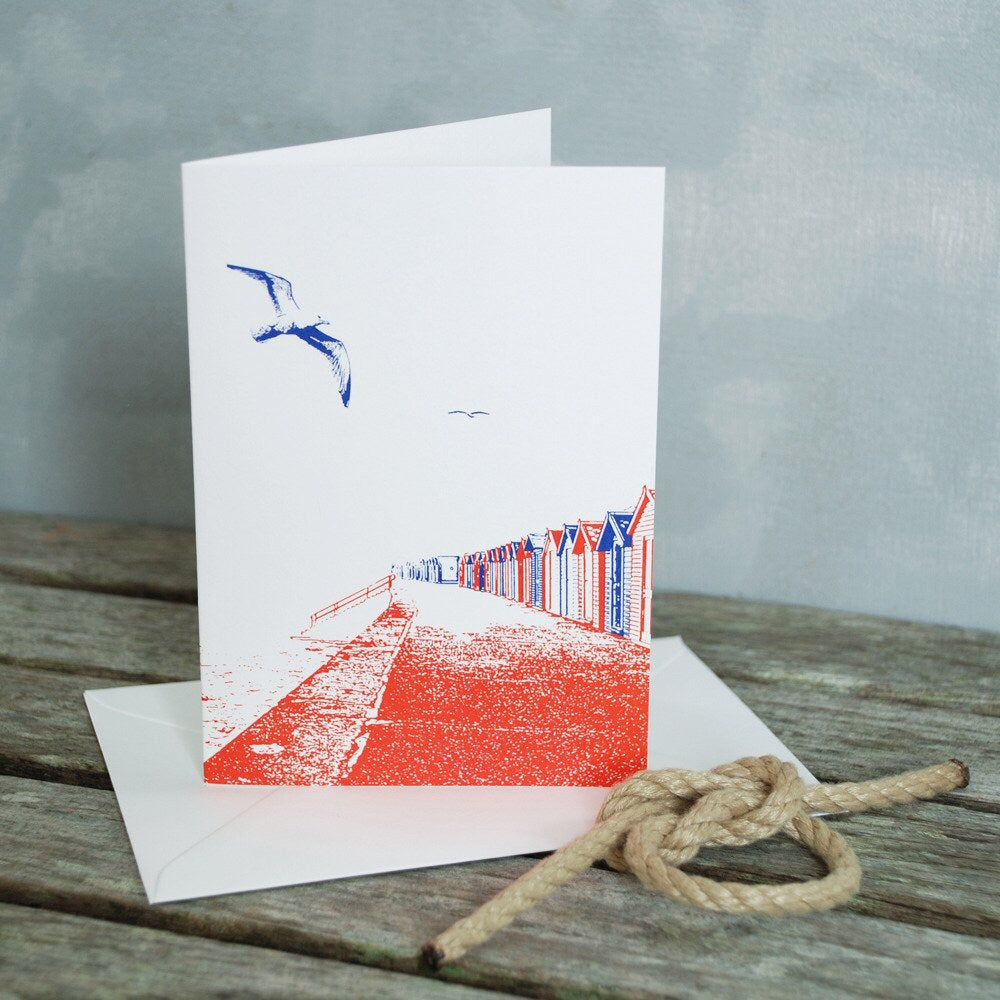 Lonetree Beach Huts Card