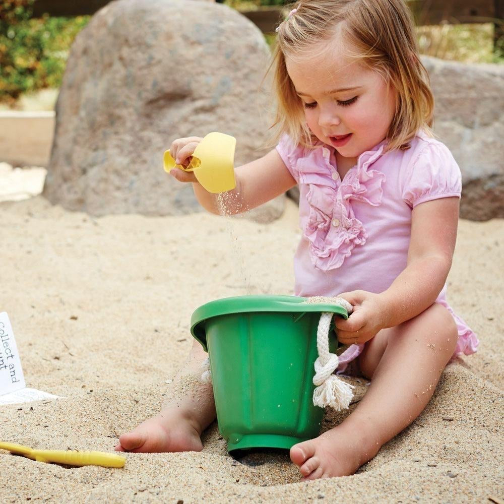 Green Toys Recycled Plastic Sand Play Set - Pink