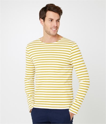 Petit Bateau Men's Breton Long Sleeved Top