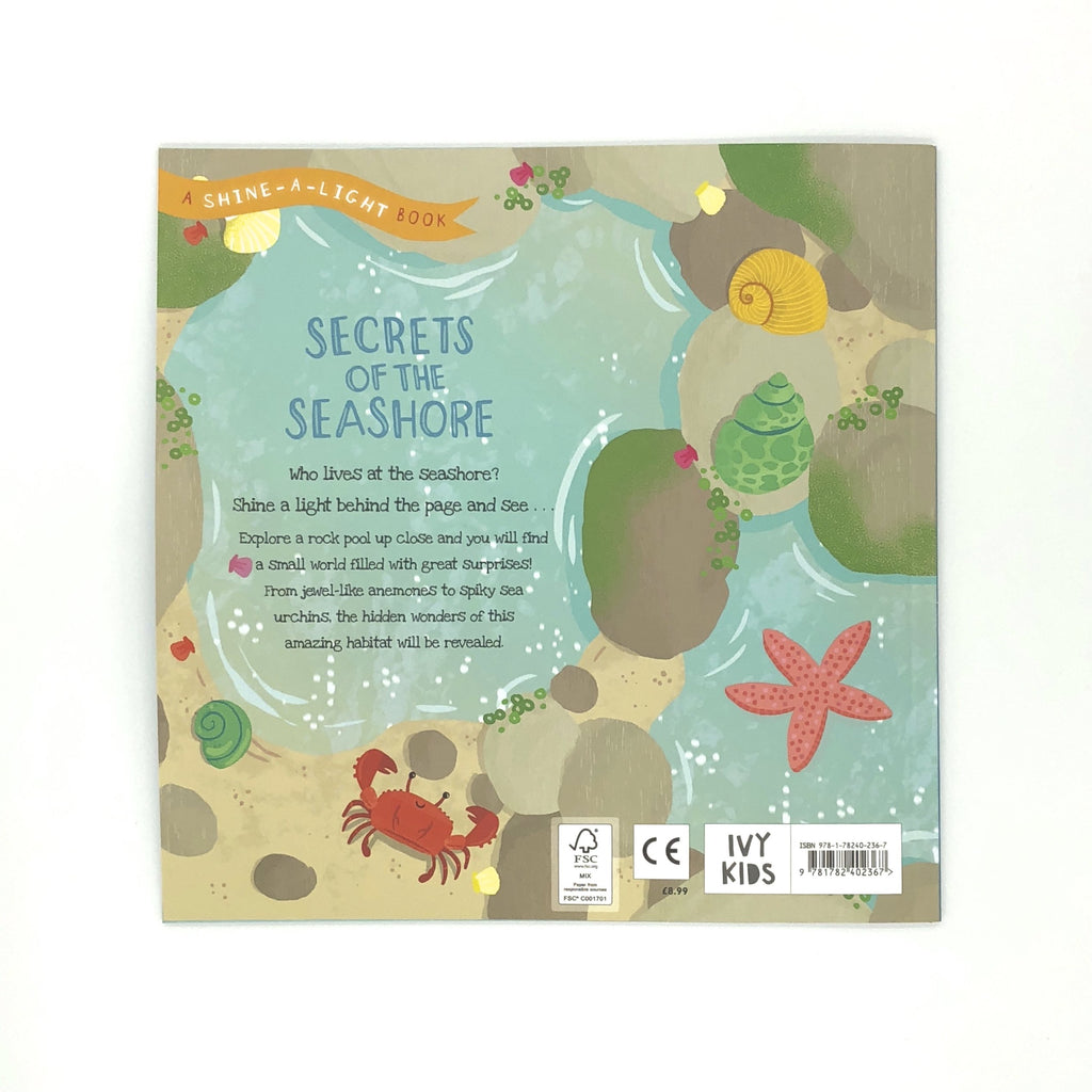 Secrets Of The Seashore Shine-A-Light Book