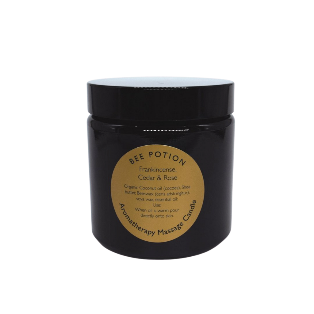 Bee Potion Bee Relaxed Ylang Ylang, Cedar & Ginger Aromatherapy Massage Candle