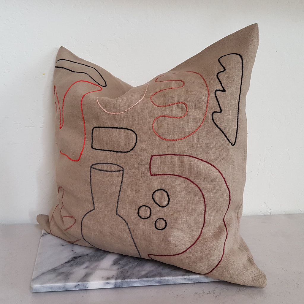 Plinth Science Cushion Natural