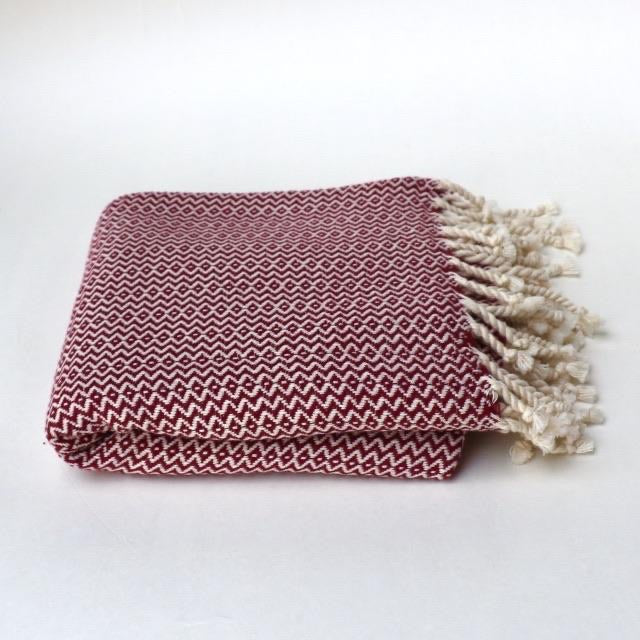 Bon Bini Sabadeco Super Soft Wrap and Throw Burgundy