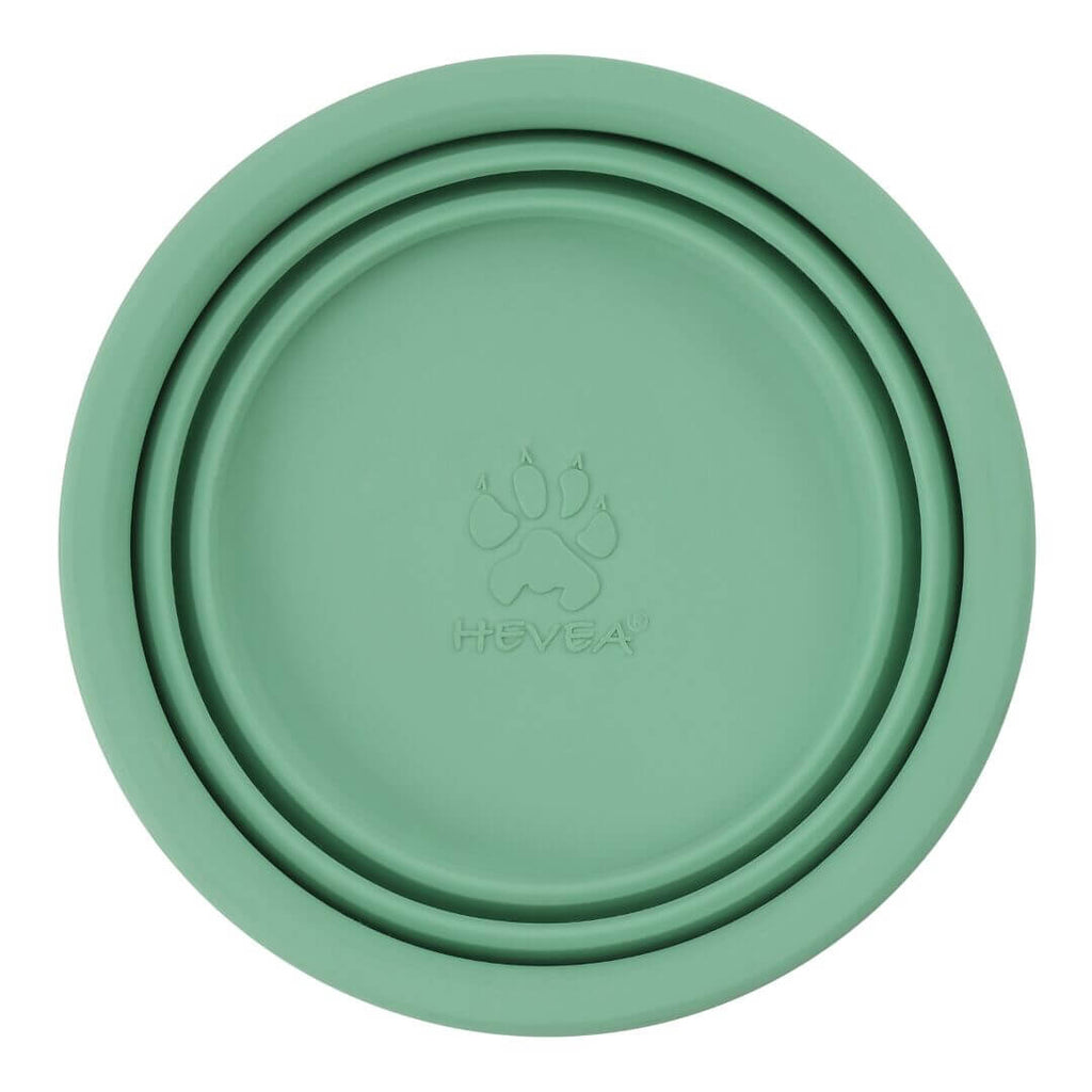 Hevea Natural Rubber On The Go Dog Bowl