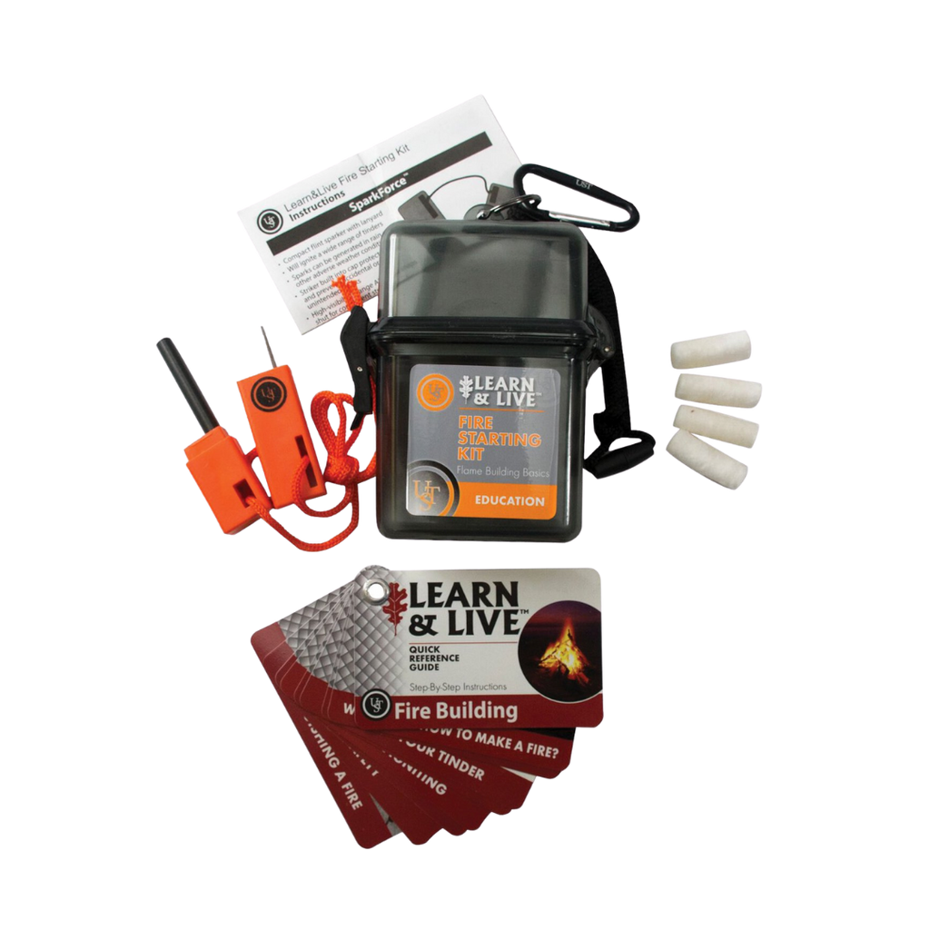 UST Learn and Live Survival Fire Starting Kit