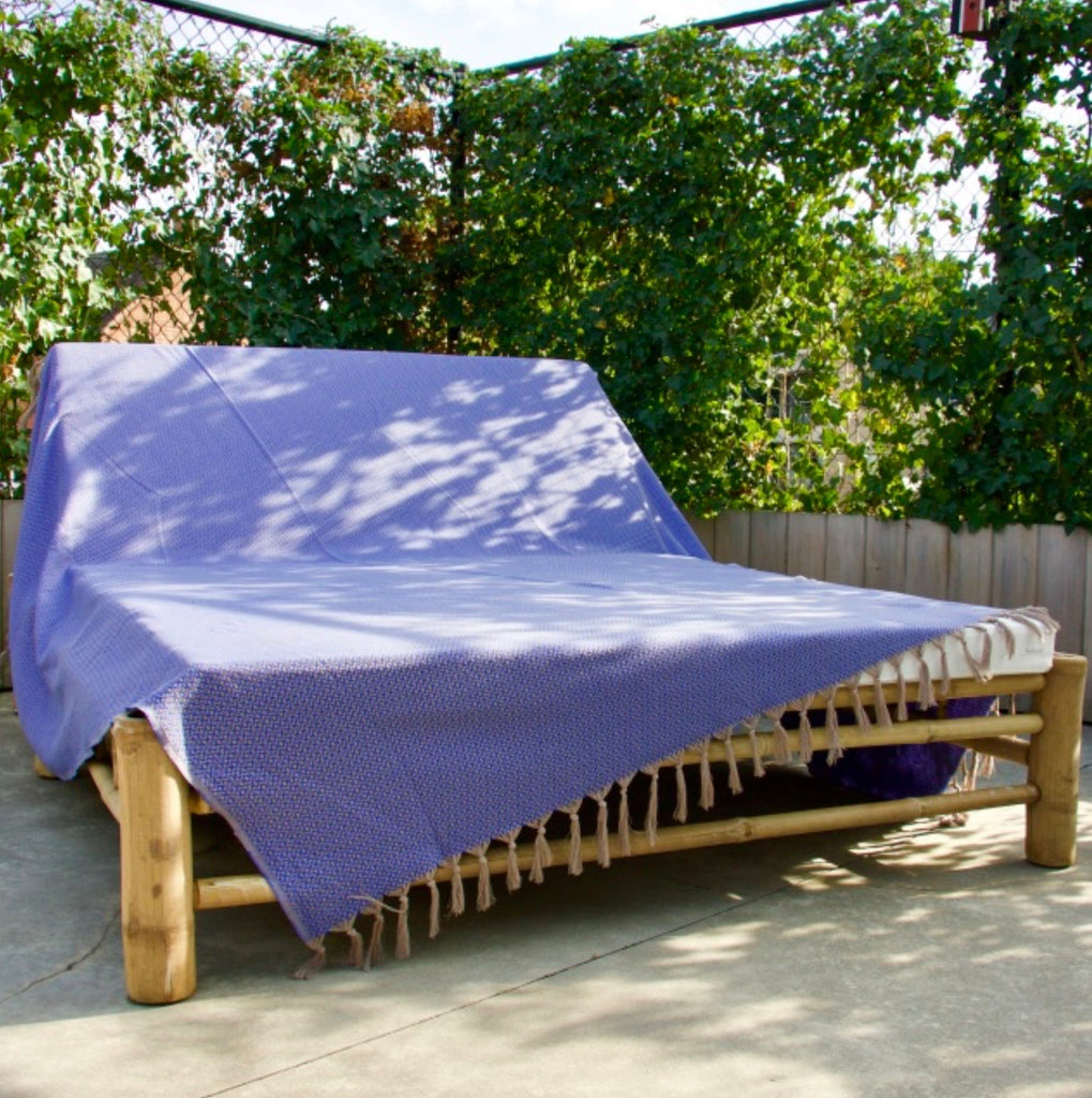 Bon Bini Sabadeco XL Throw Navy