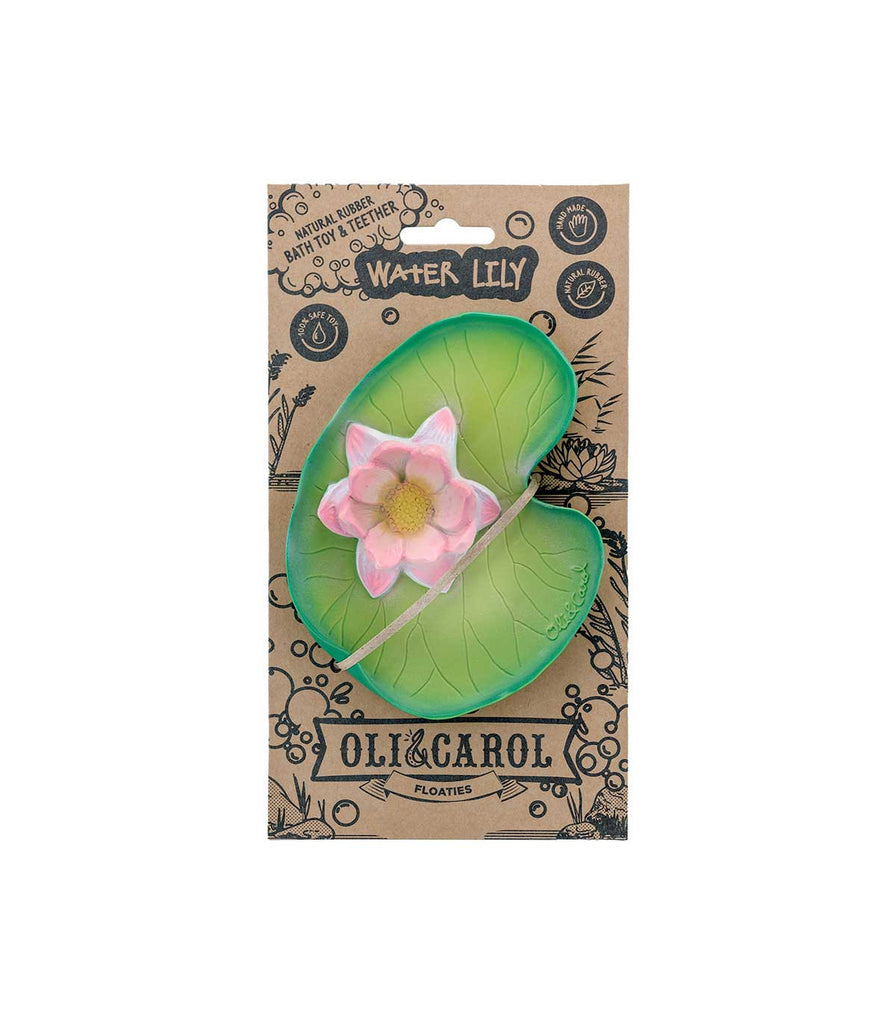 Oli & Carol Water Lily Natural Rubber Floatie