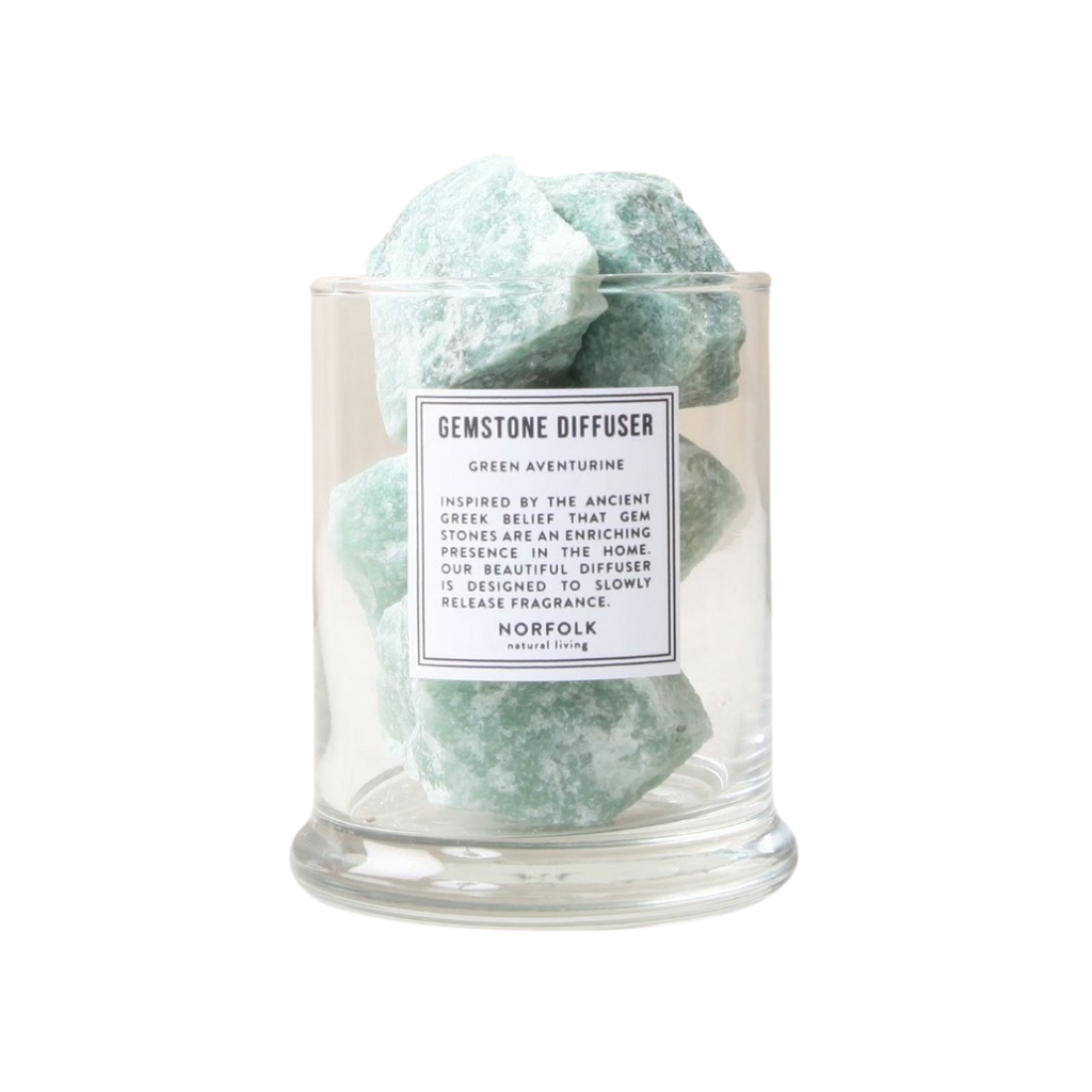 Norfolk Natural Living Green Aventurine Gemstone Diffuser