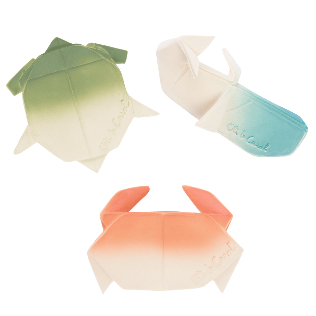 Oli & Carol H2Origami Sea Animals 3-Pack