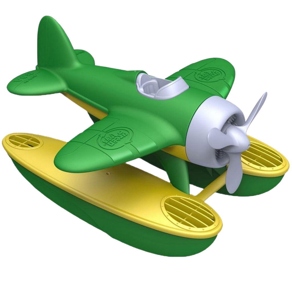 Green Toys Recycled Plastic Seaplane - Green Wings