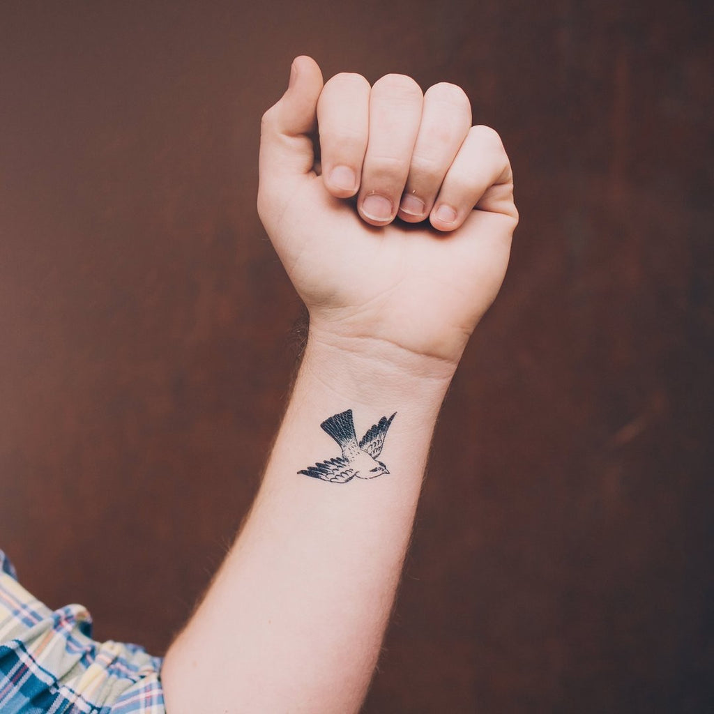 Tattly 2-Pack Cartolina Bird Tattoo