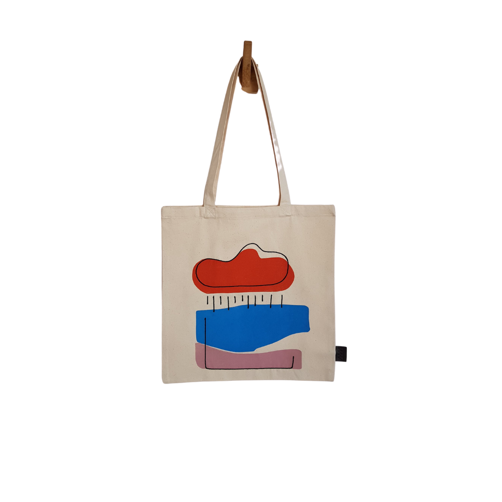 Plinth Home Monsoon Natural Tote Bag
