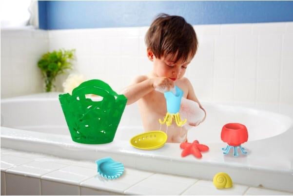 Green Toys Recycled Plastic Tide Pool Bath Set