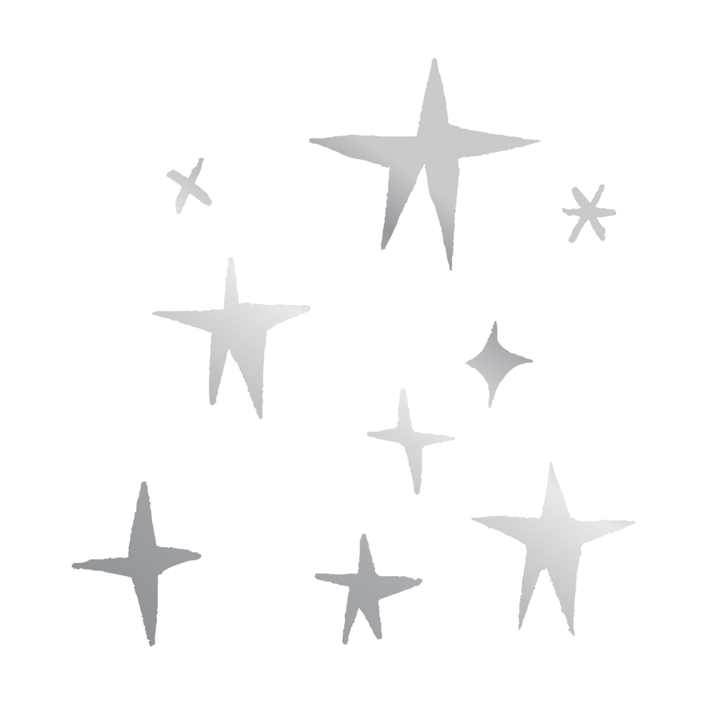 Tattly 2-Pack Stars Tattoo