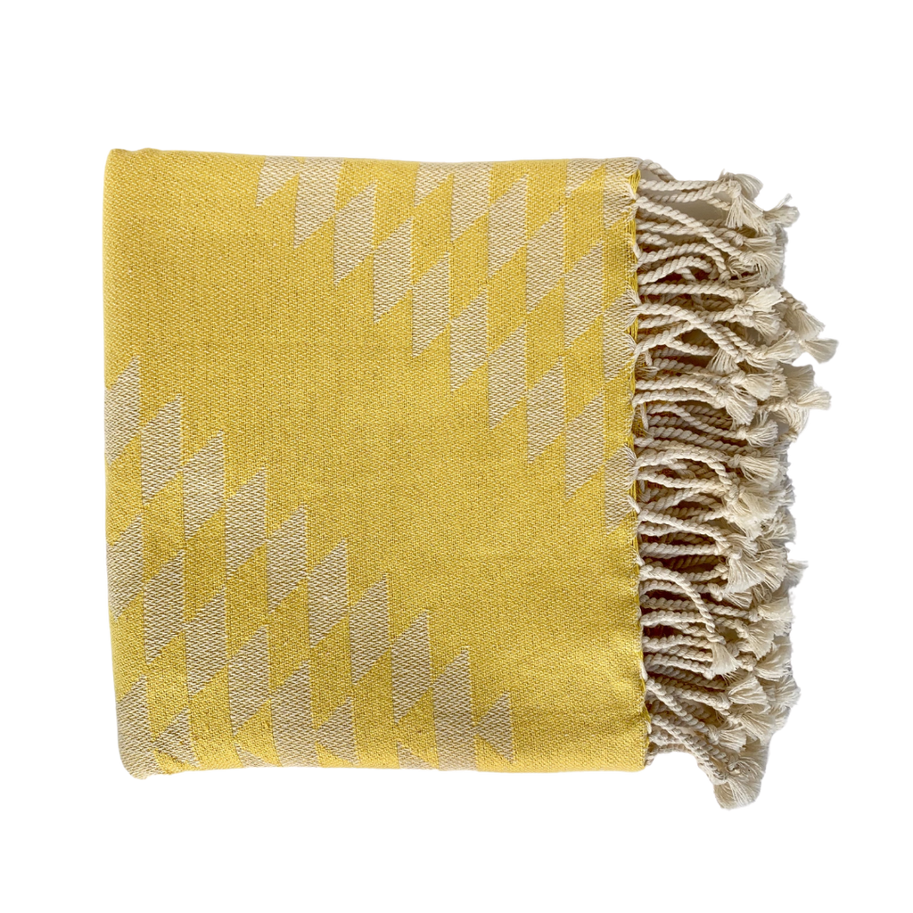 Bon Bini Benge Towel Yellow
