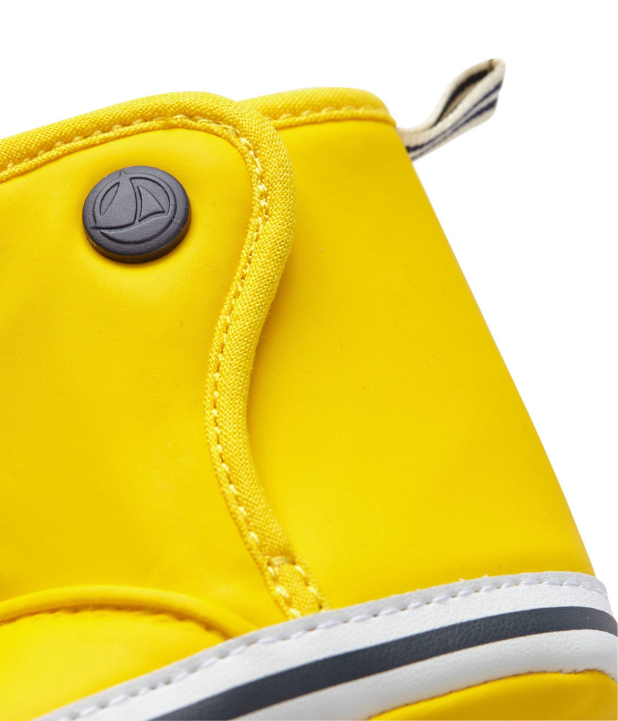 Petit Bateau Baby Waxed Booties