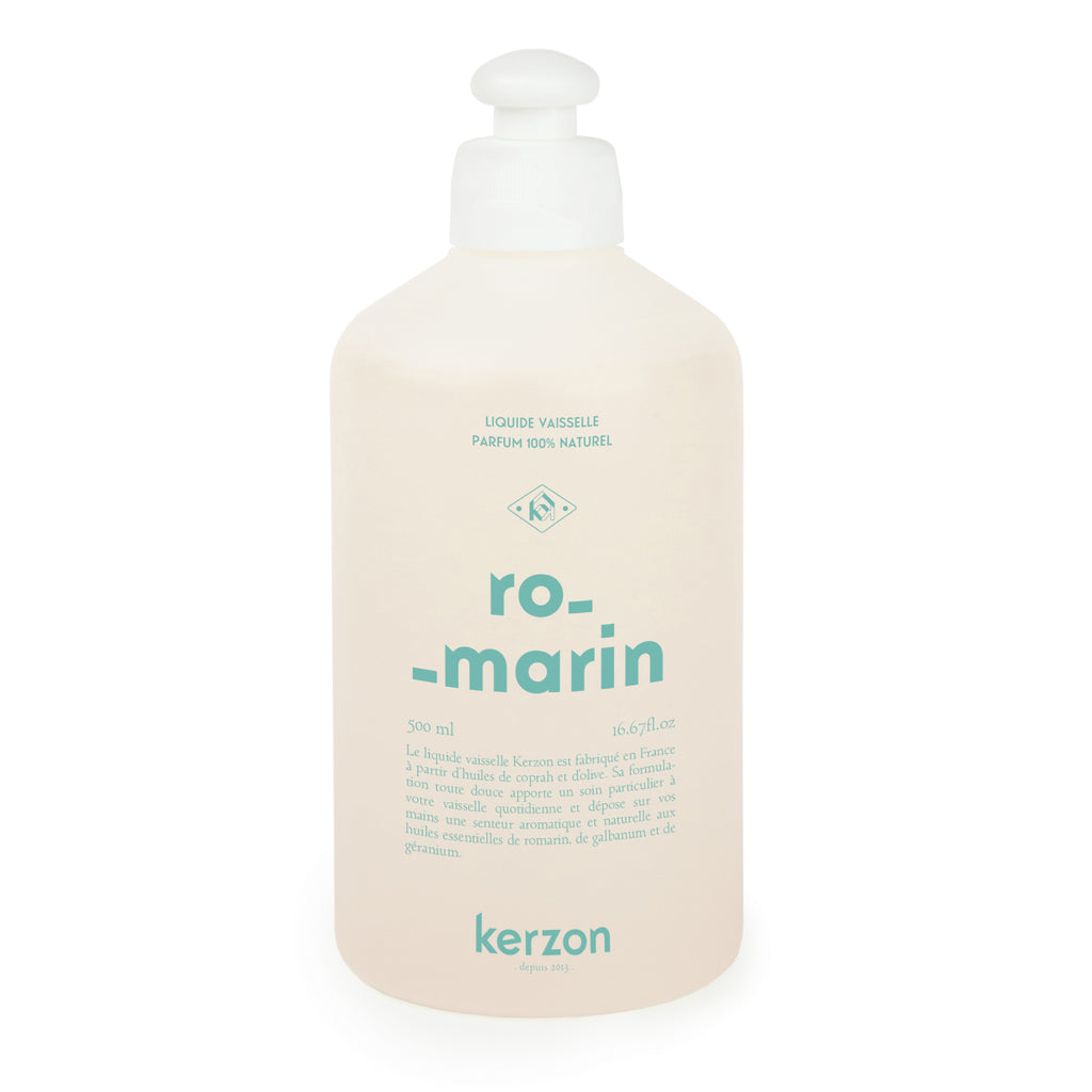 Kerzon Natural Dishwashing Liquid Rosemary and Geranium