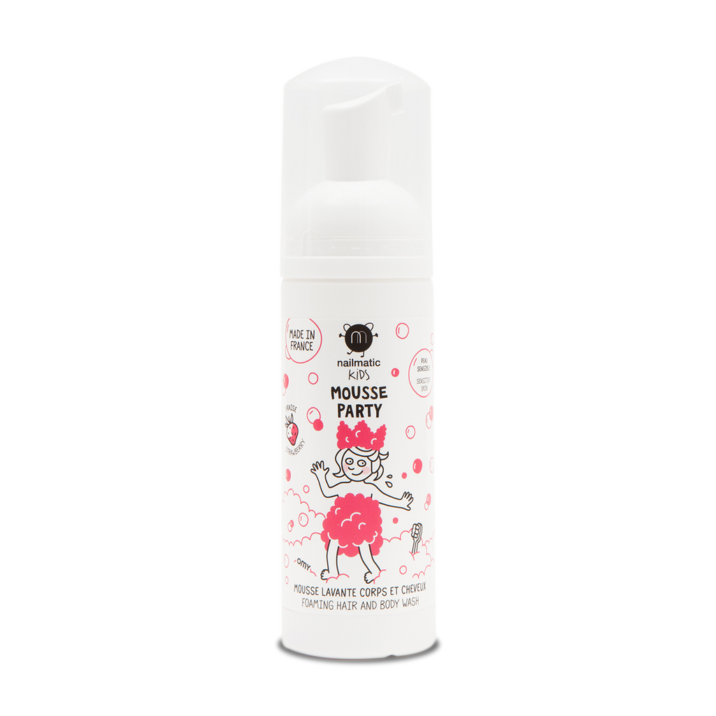 Nailmatic Kids Hair & Body Mousse Strawberry