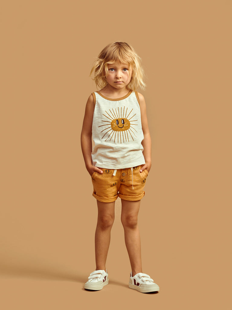 Mainio Kids Organic Cotton Sunny Top