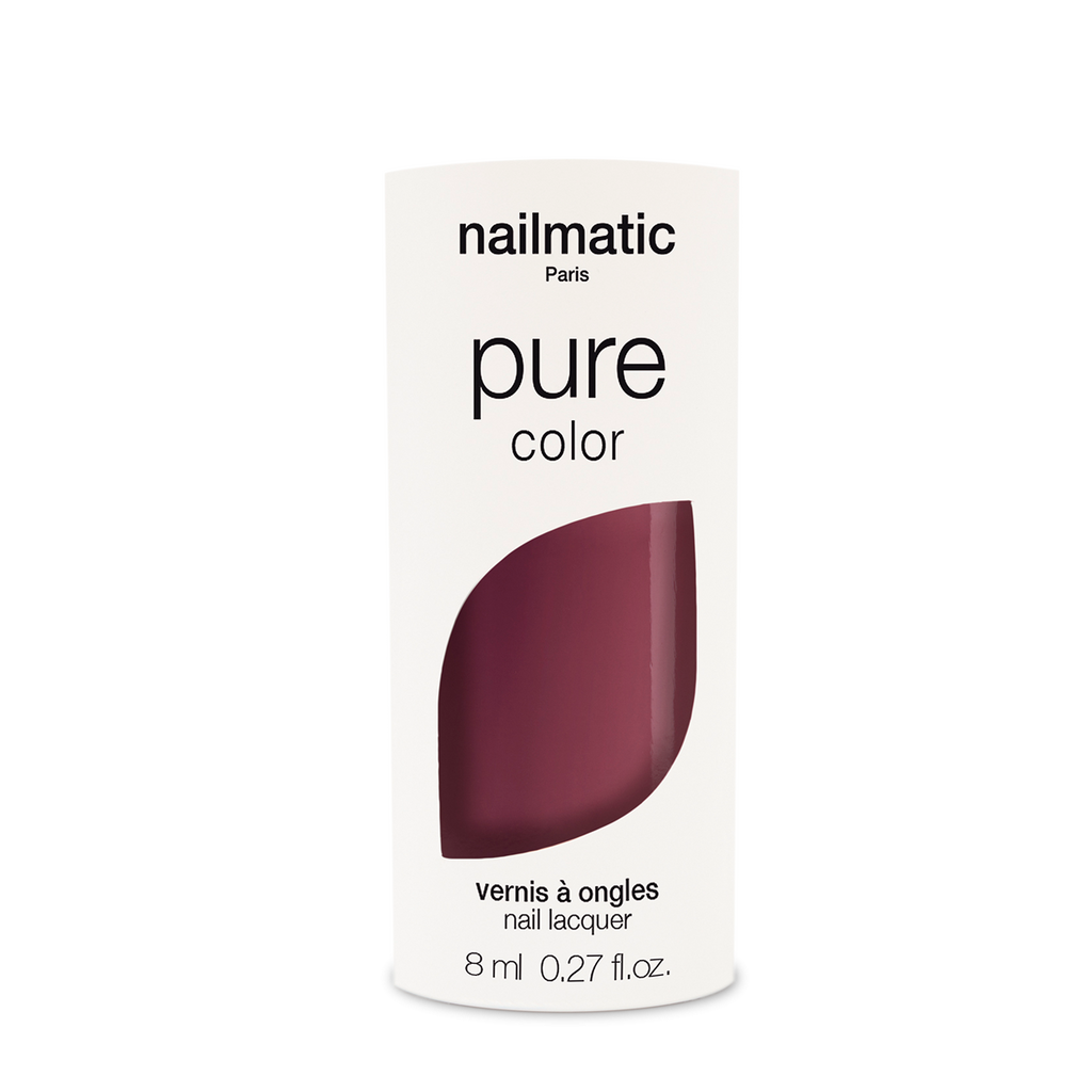Nailmatic PURE Vegan Nail Polish - Misha Plum Brown
