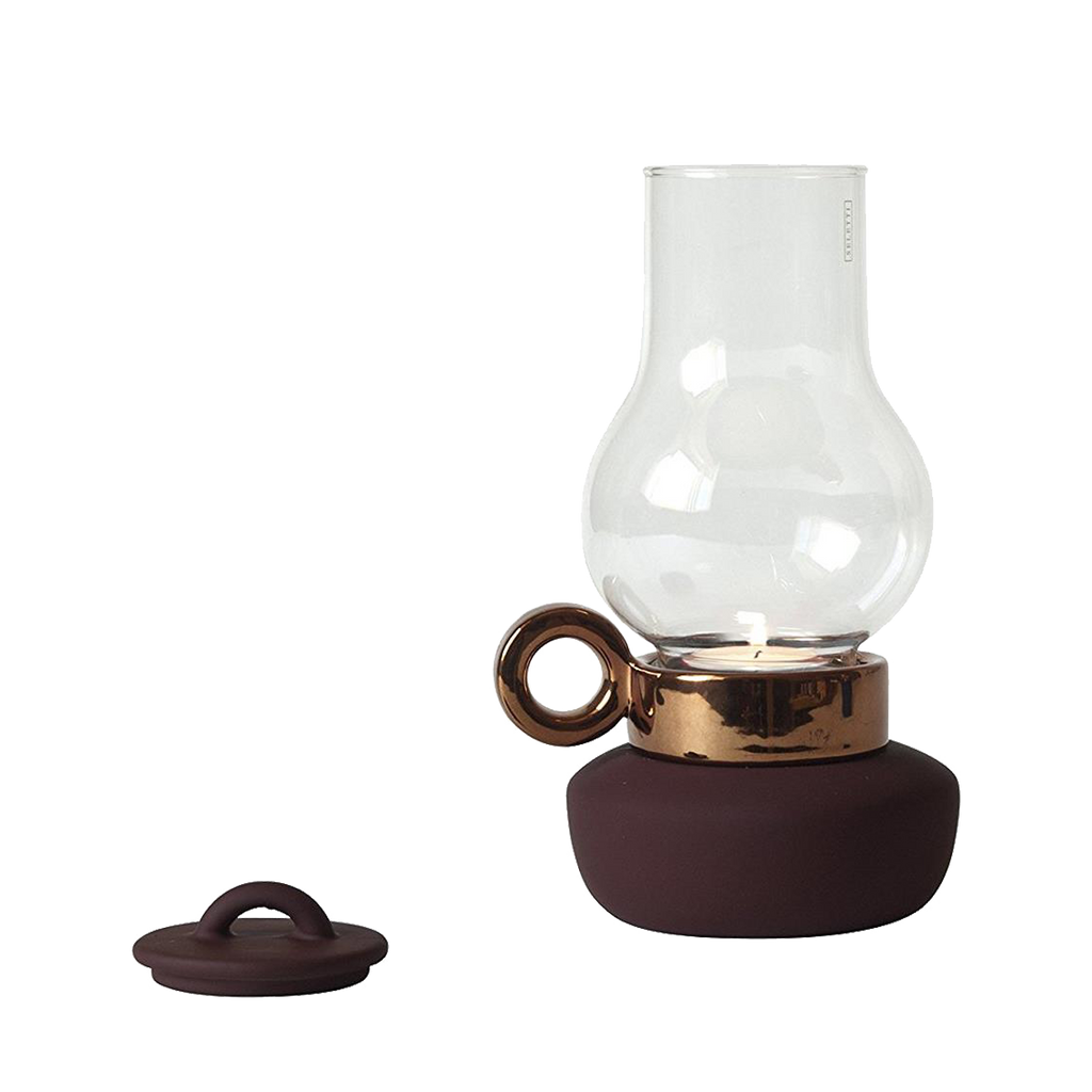 Seletti Lantern Tealight Holder Rust