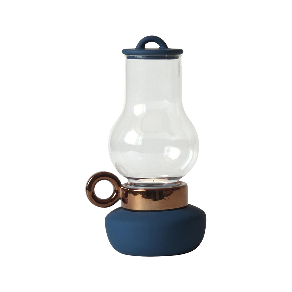 Seletti Lantern Tealight Holder Blue
