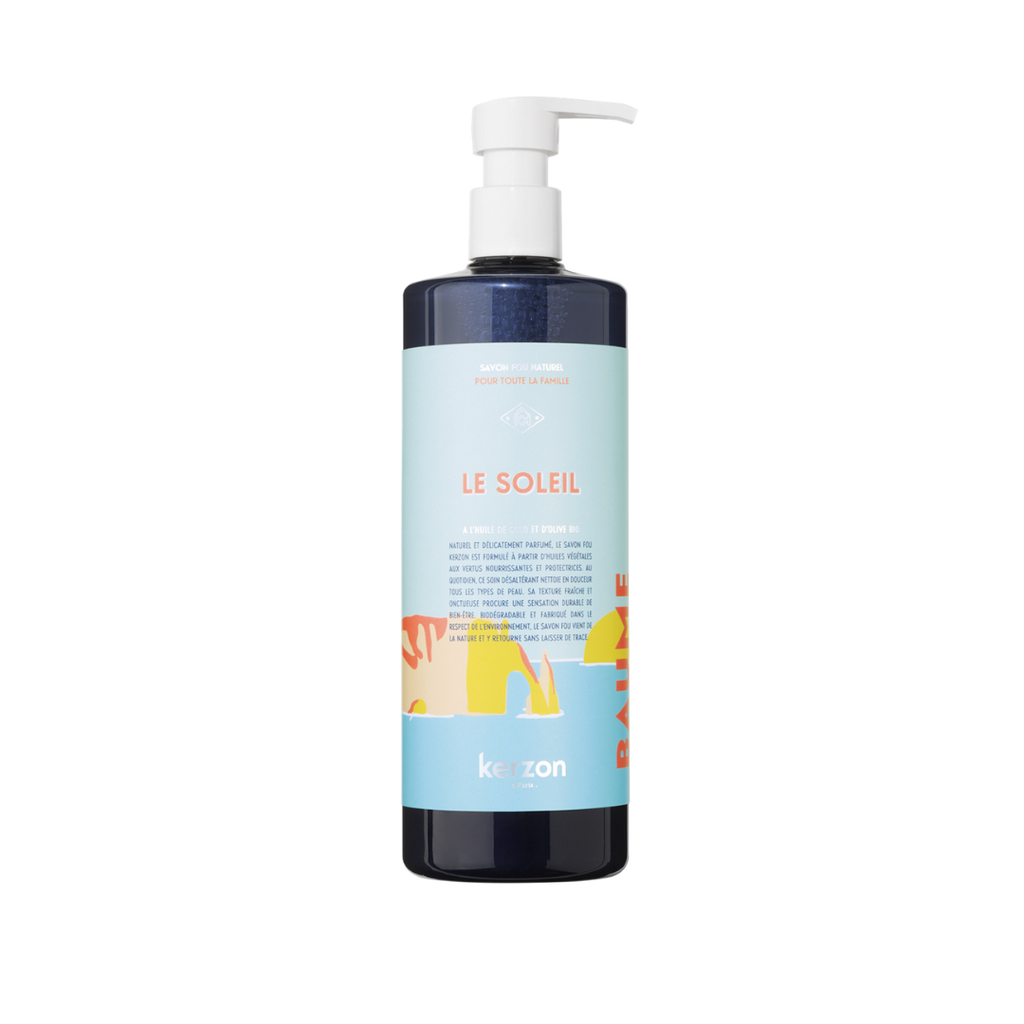 Kerzon Le Soleil Top To Toe Natural Liquid Soap