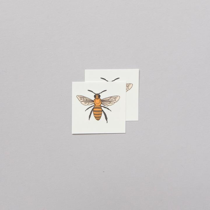 Tattly 2-Pack Honey Bee Tattoo