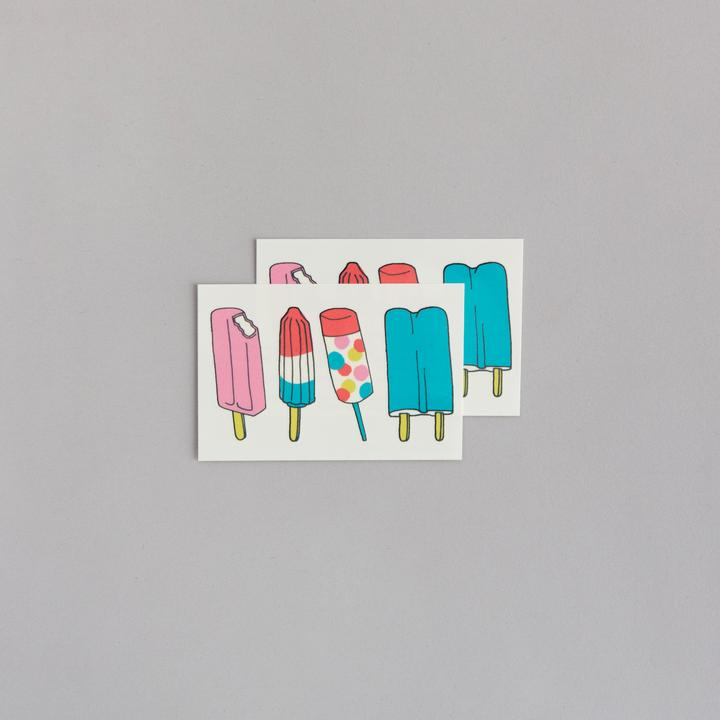 Tattly 2-Pack Popsicles Tattoo