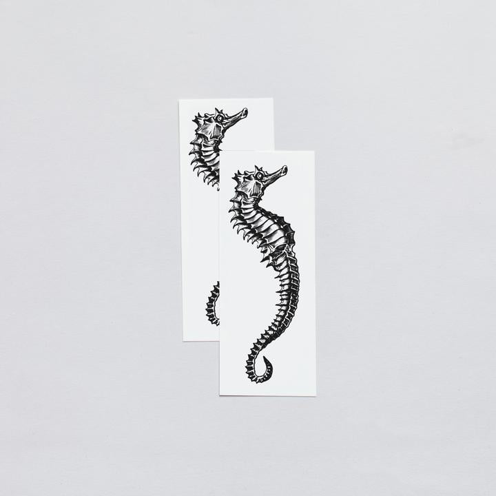 Tattly 2-Pack Seahorse Tattoo