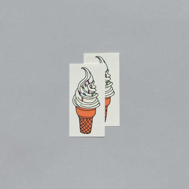 Tattly 2-Pack Soft Serve Tattoo
